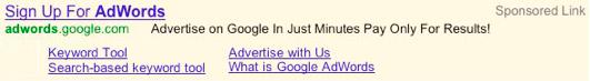AdWords Sitelink